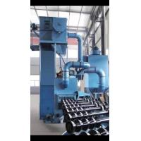 Buy cheap Roller Conveyor Shot Blasting Machine Protected By Wear Resistant Shields from wholesalers