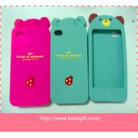 Buy cheap Cute cartoon cell phone case, Silicone phone case, Silicone mobile phone cover from wholesalers