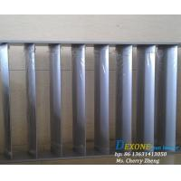Buy cheap ALUMINUM VERTICAL LOUVERS from wholesalers
