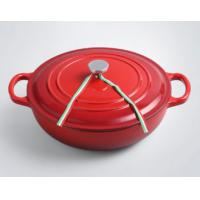Buy cheap Color Enameled cookware set cast iron seafood pot casserole dish from wholesalers