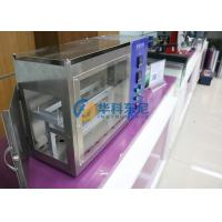 Buy cheap 90° Burner Angle Electronic Horizontal Flammability Testing Equipment from wholesalers