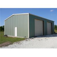 Buy cheap Small Steel Frame Storage Buildings With Hot Dipped Galvanized & Painting Coated from wholesalers