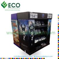 Buy cheap Attractive DVD DisplayRack with Corrugated Material, Cardboard Display for CD DVD, Comic Book Display Rack from wholesalers