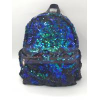 Buy cheap Sequin Backpack, Woman Dazzling Sequin Bag, Reversible Sequins School Backpack for Girl, Lightweight Travel Backpack product