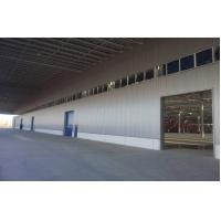 Buy cheap Prefab Warehouse Buildings with Color Coated Galvanized Trapezoidal Steel Cladding from wholesalers