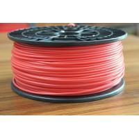 Buy cheap Red ABS Plastic Filament For 3D Plastic Printer / PLA 3D Printer Material product