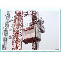 Buy cheap CE Material Hoisting Equipment , Passenger And Material Hoist Used In Building / Construction product