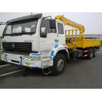 Buy cheap factory direct sale SINO TRUK HOWO 10tons truck with crane, high quality best price HOWO 10tons teelscopic crane truck from wholesalers