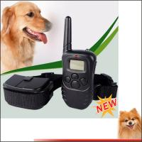 Buy cheap Power Remote electric dog collar elecking collar with retail shock device from wholesalers