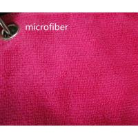 Buy cheap Microfiber 260gsm Green Colorful 150cm Width  Terry fabric Car Glass Cleaning Cloth from wholesalers