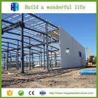 Buy cheap Easy install low cost steel structure building insulated prefab warehouse shed from wholesalers
