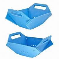 Buy cheap Blue Plastic Fruit Basket for Storage and Home Decoration, Available in Various Colors from wholesalers