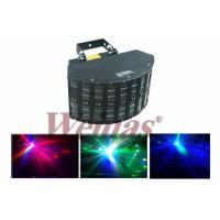 Buy cheap Led Effect Light, Double dj butterfly lights / Mini LED Derby Li DJ Disco Dance Club Stage Light / Party Light from wholesalers