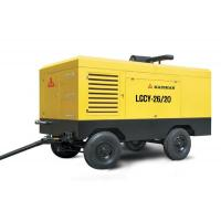 Buy cheap Low noise high pressure portable screw air compressor oil - less 194kw from wholesalers