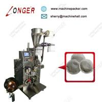 Buy cheap Round Shape Tea Bag Pod Packing Machines,Good Quality Filter Paper Herbal Powder Packaging Machine from wholesalers
