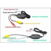 Buy cheap Wireless back up camera 4.3 inch Digital TFT-LCD Reverse Rear View Mirror car product