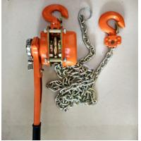 Buy cheap Capacity 6 ton lever chain hoist  Cable Pulling Tools height 1.5m chain dia 10mm from wholesalers