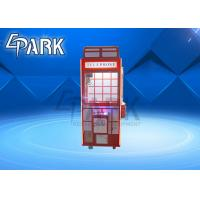 Buy cheap Lovely design Coin operated amusement British style red gift/toy claw crane Gift game Machine from wholesalers