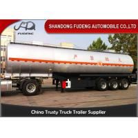 Buy cheap 4 Inch Oil Outlet Diesel Fuel Tanker Semi Trailer With 5 Compartments from wholesalers