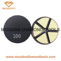 Buy cheap 3 Inch Ceramic Bond Transitional Polishing Pucks Pads for Concrete from wholesalers