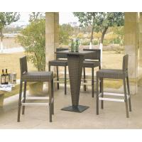 Buy cheap Outdoor rattan wine bar set-16078 from wholesalers
