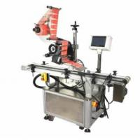 Buy cheap Automatic Food Packaging Labelling Machine / Card Sticker Maker Machine Electric Driven from wholesalers