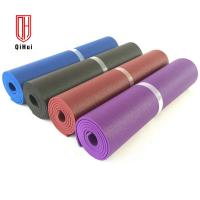 Buy cheap PVC Non Slip Exercise Mat Roll , Free Harmful Substances Lightweight Yoga Mat from wholesalers
