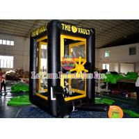 Buy cheap Customized Inflatable Sport Games / Inflatable Cash Machine Money House from wholesalers