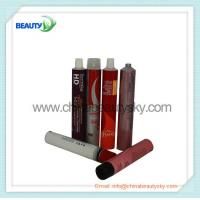 Buy cheap Empty  aluminum Collapsible tubes for hair color cream packing 4C printing from wholesalers