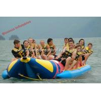 Buy cheap 2.0mm PVC Tarpaulin Kids Inflatable Water Ski Towable Tubes In Sea / River from wholesalers