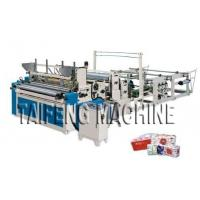 Buy cheap Automatic high speed toilet paper embossed rewinding bathroom tissue making machine from wholesalers