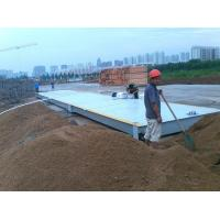 Buy cheap 60ton 80ton 100ton truck scale 3x18m weighing bridge 60ton truck scake/80ton Electronic truck scale from wholesalers