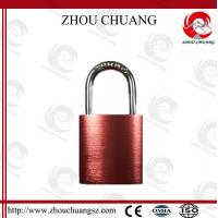 Buy cheap 38mm Steel Shackle Diameter Auto-Populated  Safety Aluminum  Padlock from wholesalers