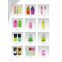Buy cheap Glass / Crystal Cap Blown Glass Perfume Bottles 100ML Color Coating from wholesalers