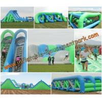 Buy cheap Full Set PVC Tarpaulin Inflatable Obstacle Courses Sport Games from wholesalers