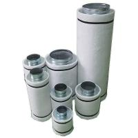 Buy cheap Plant Grow Rooms Activated Carbon Air Filter Cone Shaped HEPA Air Filter from wholesalers