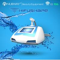 Buy cheap Newest beauty system hifu beauty device high intensity focused ultrasound hifu slimming machine from wholesalers