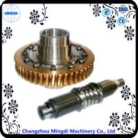 Buy cheap Differential Stainless Copper Worm Helical Gear Transmission For Micro Tractor from wholesalers