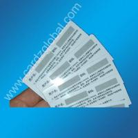 Buy cheap Scratch off card/pre-paid card from wholesalers