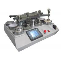 Buy cheap Universal Martindale Abrasion And Pilling Tester Machine With LCD Control from wholesalers