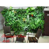 Buy cheap Artificial green wall plants art plants wall plastic plant green wall decoration from wholesalers