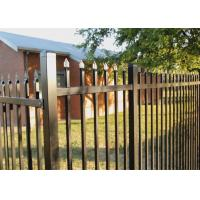 Buy cheap Australia 2.1x2.4m Black Powder Coated Spear Top Steel Hercules SEcurity Fence Panel for School Factory Railway Park Bou from wholesalers