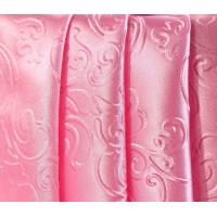 Patterned satin lining fabric