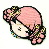 Lovely Cartoon Iron On  Embroidered Patches For Kids Clothing Non Toxic