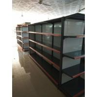 Buy cheap Convenient Store Supermarket Gondola Metallic Racks Display Shelving Shelves from wholesalers