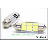 Buy cheap 36mm LED Festoon Dome License Plate Light Bulb DE3175 9x 5630 SMD White from wholesalers