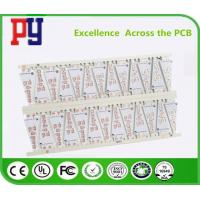Buy cheap Prototypes Single Sided PCB Board White Solder Mask LED Lights PCB With Aluminum Base from wholesalers