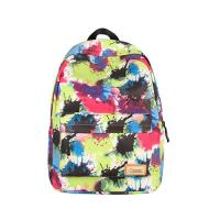 Buy cheap Colorful Graffiti nylon school Backpack for girls with laptop bags from wholesalers