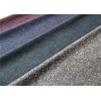 Buy cheap Scarf Herringbone Knitted Terry Cloth Fabric 50% Wool 620 G / M Dry Cleaning from wholesalers