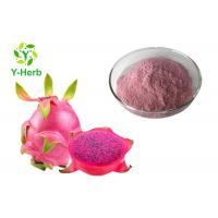 Buy cheap Spray Drying Herbal Extract Powder Red Dragon Fruit Natural Purple Red Color from wholesalers